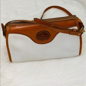 Vintage White Dooney & Bourke Crossbody Bag